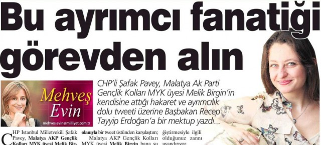 &quot;BABAKANA AIK MEKTUP; Ayrmc Fanatii Grevden Aln &quot;